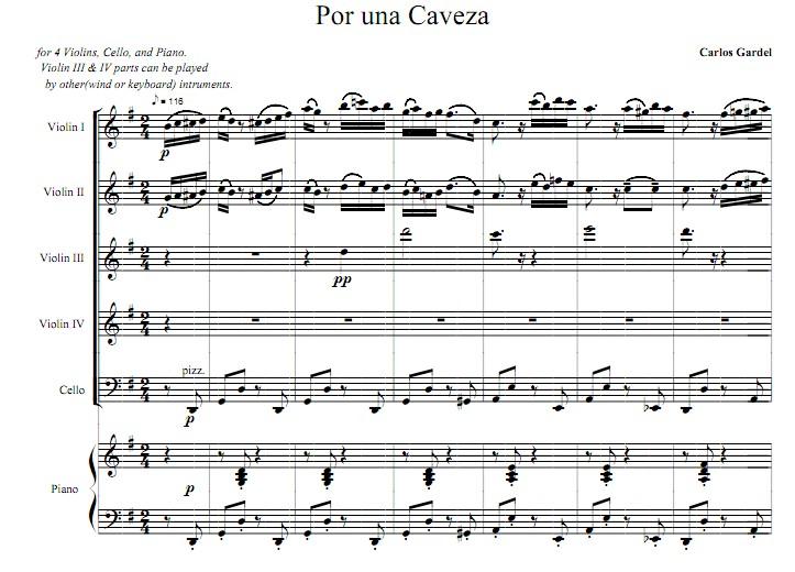 Cabeza一步之遥小提琴谱钢琴谱